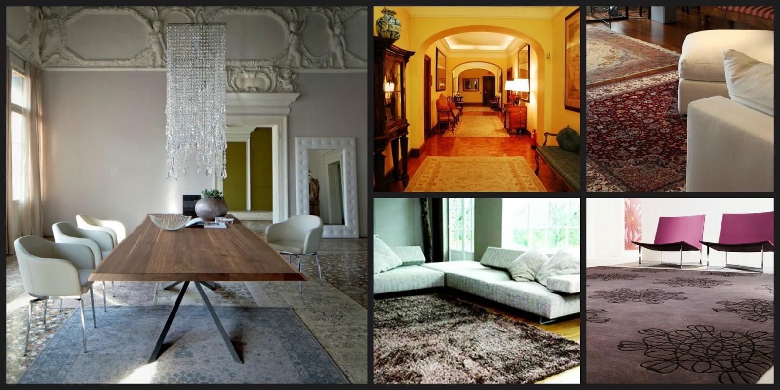 Come scegliere i tappeti per la vostra casa un for Case da architetto