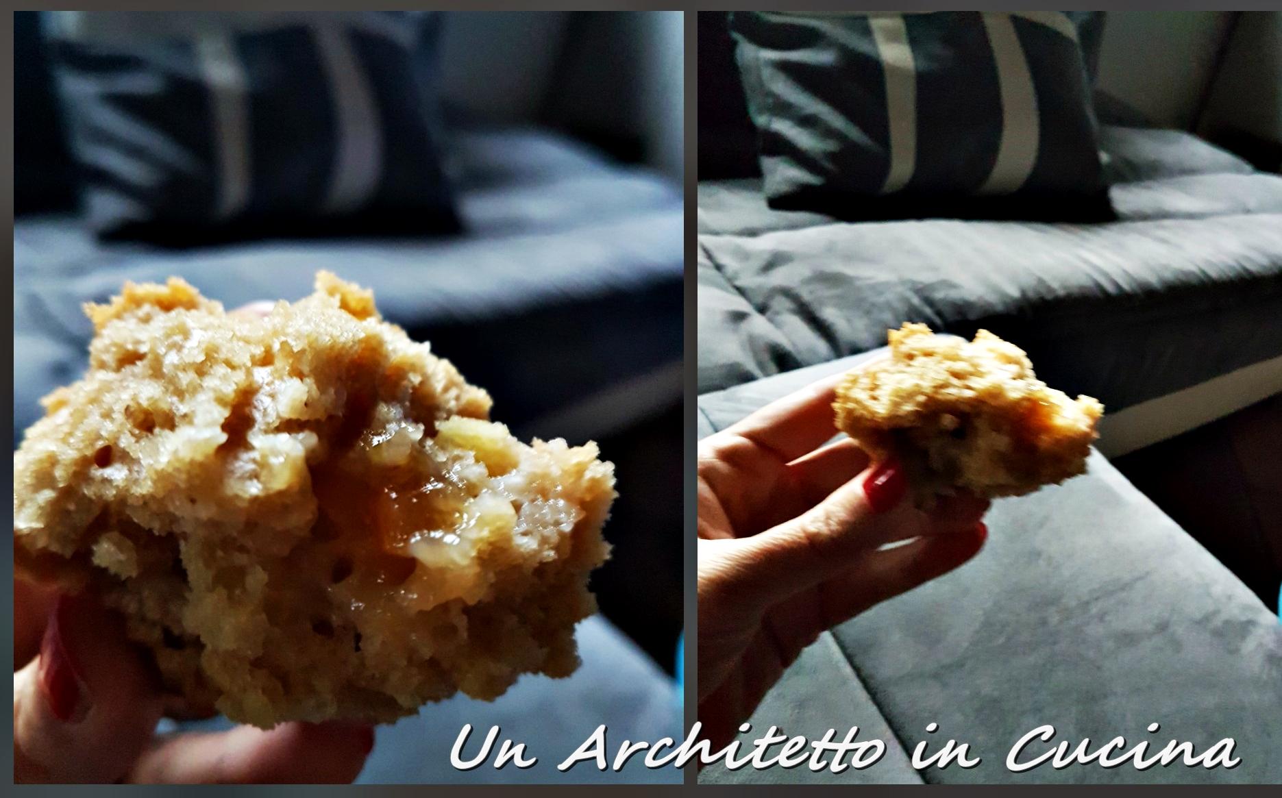 Muffin all'orzo e mele renette