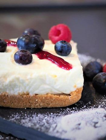 Mini Cheesecake al caprino e frutti rossi