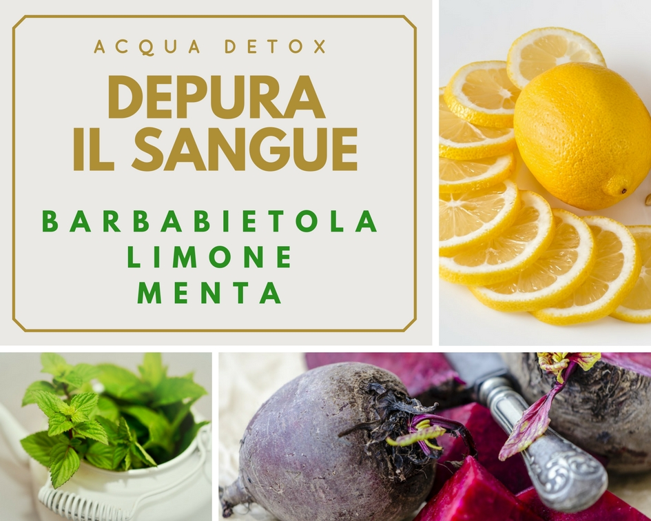 Acqua Detox Depura il sangue